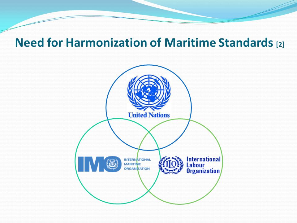 Need for Harmonization of Maritime Standards [2]
